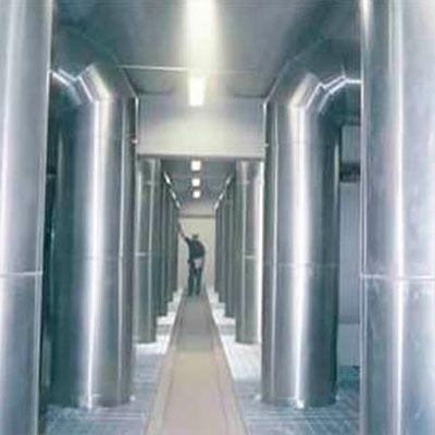 Isolante térmico para forno industrial
