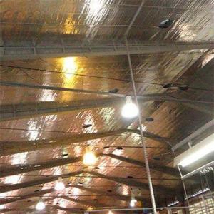 Isolação térmica para telhado